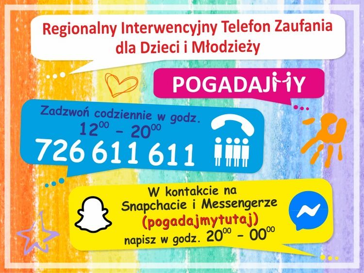 plakat telefon zaufania